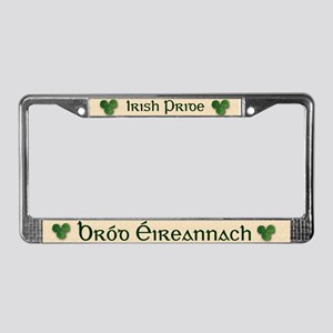 Irish Pride (Bi-Lingual) License Plate Frame