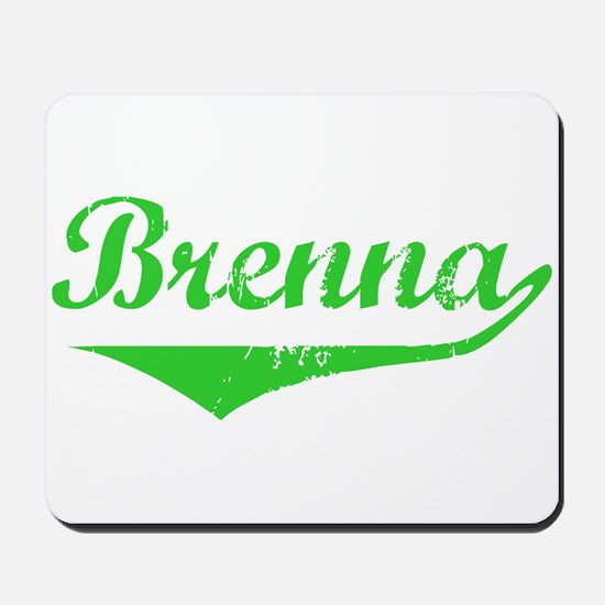 Brenna Vintage (Green) Mousepad