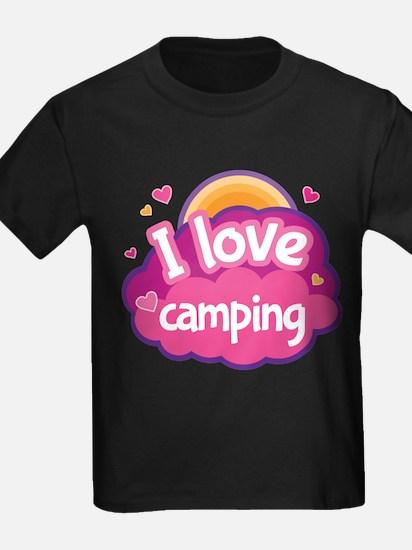 Camping Summer Camp T-Shirt