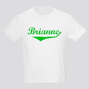 Brianne Vintage (Green) Kids Light T-Shirt