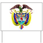 Escudo Nacional Colombiano Yard Sign