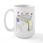 Snooker Math Large Mug