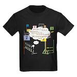 Snooker Math Kids Dark T-Shirt