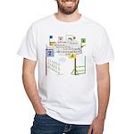 Snooker Math White T-Shirt