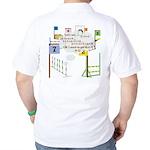 Snooker Math Golf Shirt