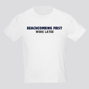 Beachcombing First Kids Light T-Shirt