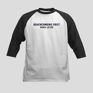 Beachcombing First Kids Baseball Jersey