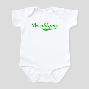 Brooklynn Vintage (Green) Infant Bodysuit