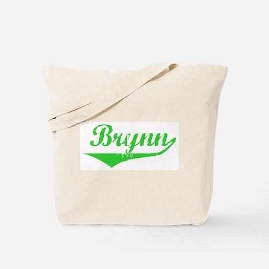 Brynn Vintage (Green) Tote Bag