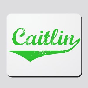Caitlin Vintage (Green) Mousepad