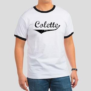 Colette Vintage (Black) Ringer T