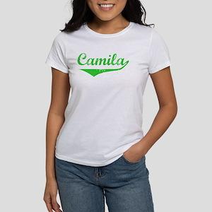 Camila Vintage (Green) Women's T-Shirt