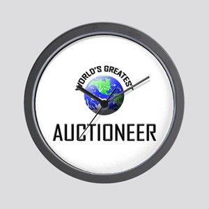 World's Greatest AUCTIONEER Wall Clock