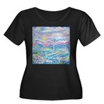 Pastel Country A Plus Size T-Shirt