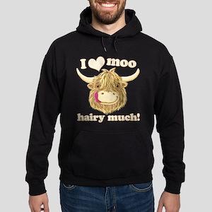Wee Hamish Loves Moo! Hoody