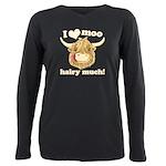 Wee Hamish Loves Moo! Plus Size Long Sleeve Tee