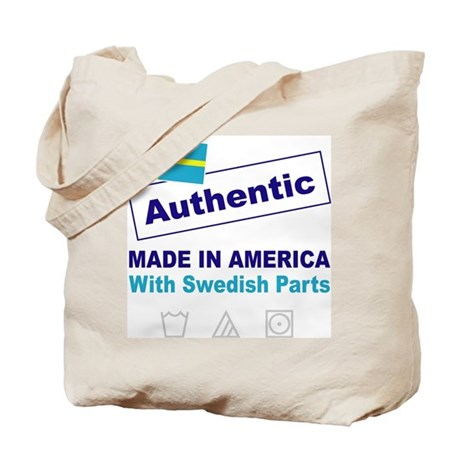 Made in America with Swedish Tote Bag
