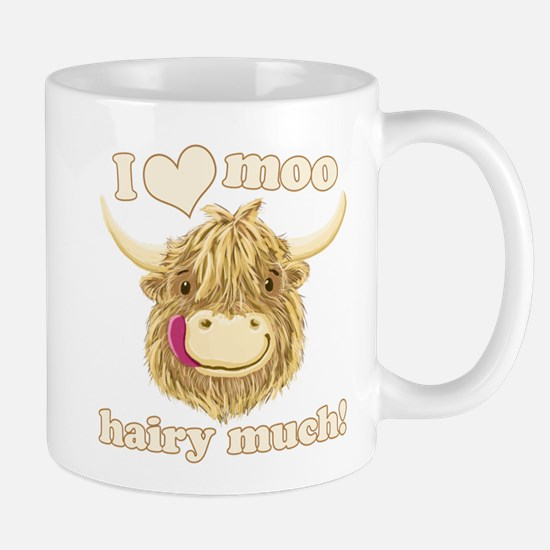 Wee Hamish Loves Moo! Mugs