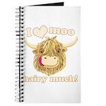 Wee Hamish Loves Moo! Journal