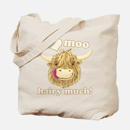 Wee Hamish Loves Moo! Tote Bag