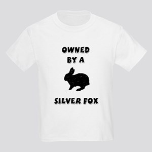 Owned by a Silver Fox Kids T-Shirt