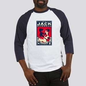 Obey the Jack Russell! Baseball Jersey