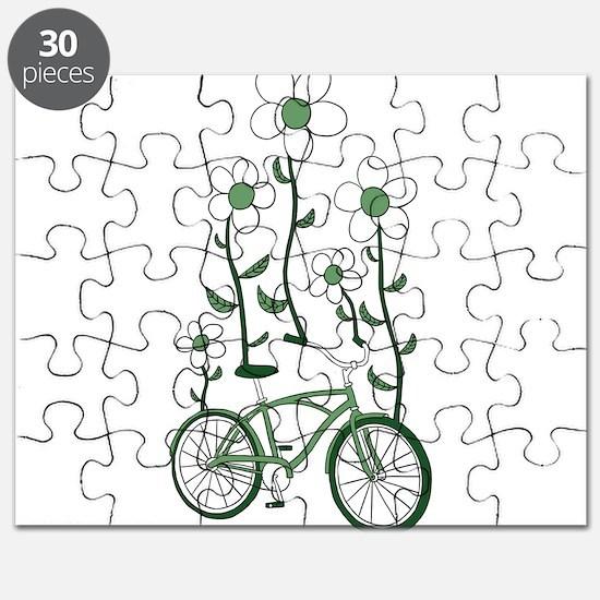 Flower Bike Puzzle