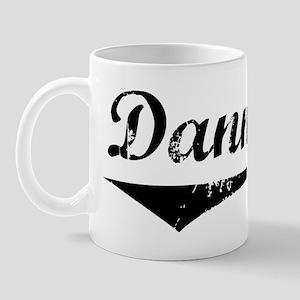 Danna Vintage (Black) Mug