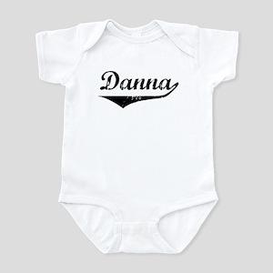 Danna Vintage (Black) Infant Bodysuit
