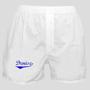 Denise Vintage (Blue) Boxer Shorts