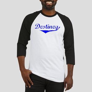 Destiney Vintage (Blue) Baseball Jersey