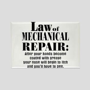 Law of Mechanical Repair: Rectangle Magnet