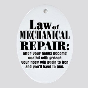 Law of Mechanical Repair: Ornament (Oval)