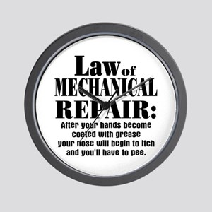 Law of Mechanical Repair: Wall Clock