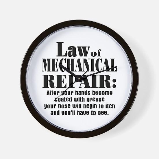 Law of Mechanical Repair: Wall Clock