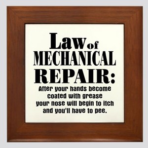 Law of Mechanical Repair: Framed Tile
