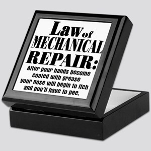 Law of Mechanical Repair: Keepsake Box