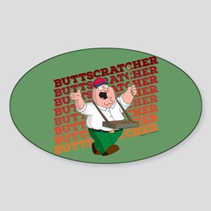 Family Guy Buttscratcher Sticker (Oval)