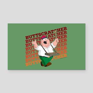Family Guy Buttscratcher Rectangle Car Magnet