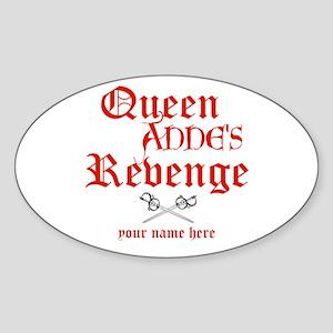 Queen Annes Revenge Sticker