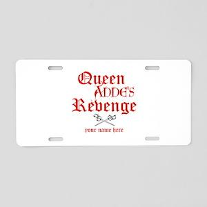 Queen Annes Revenge Aluminum License Plate