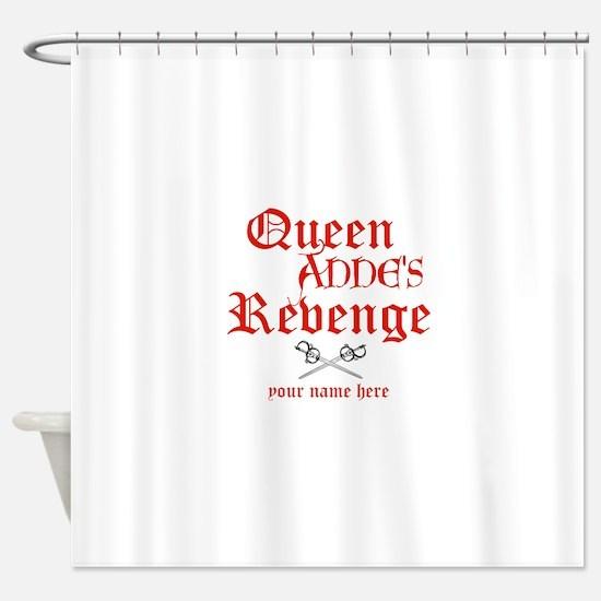 Queen Annes Revenge Shower Curtain