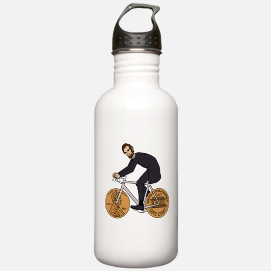 Abraham Lincoln On A B Water Bottle