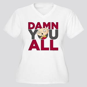 c278561534a Family Guy Damn Y Women s Plus Size V-Neck T-Shirt