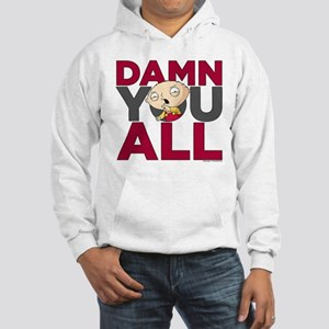 Family Guy Damn You All Hooded Sweatshirt
