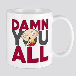 Family Guy Damn You All Mug