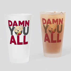 Family Guy Damn You All Drinking Glass
