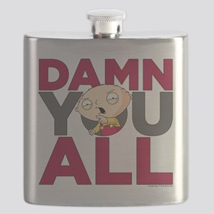 Family Guy Damn You All Flask