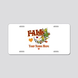 Fall Gifts Aluminum License Plate