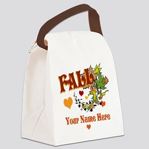 Fall Gifts Canvas Lunch Bag